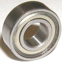 R1238ZZ Shielded Bearing 3/8 x 3/4 x 0.196 inch Miniature Ball Bearings VXB Brand