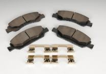 ACDelco 171-1074 GM Original Equipment Front Disc Brake Pad Kit with Brake Pads and Clips