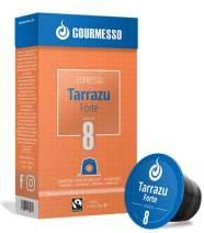 Gourmesso Tarrazu Forte - 10 Nespresso Machine Compatible Coffee Capsules - Fair Trade | High Intensity