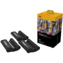Kodak KPHC-120 Dock & Wi-Fi Photo Printer Cartridge PHc - Cartridge Refill & Photo Sheets - 120 Pack (Compatible with PD450, PD480), Black