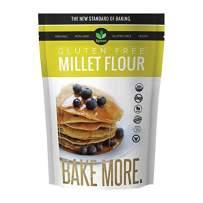 Big Green Organic Food- Organic Millet Flour, Gluten-Free, Kosher, Artisan Baking (3)
