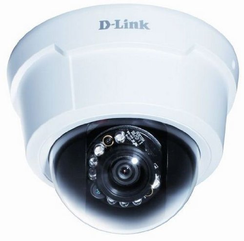 D-Link Systems DCS-6113 Full HD Fixed Dome Network Camera (White)