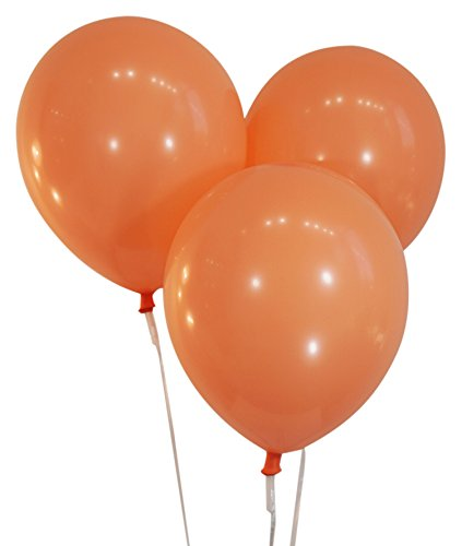 """Creative Balloons 12"""" Latex Balloons - Pack of 100 Pieces - Decorator Peach"""