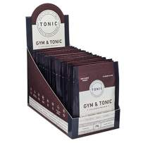 Tonic: Gym & Tonic Collagen Powder & Alternative to Whey Protein Powder, Paleo + Keto Friendly, Muscle Building, Bulletproof Collagen, Unflavored, 20 Single Servings