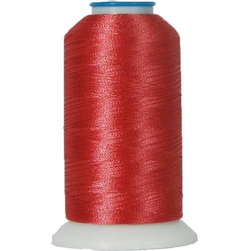Threadart Polyester Machine Embroidery Thread By the Spool - No. 318 - Brick - 1000M - 40wt - 220 Colors Available