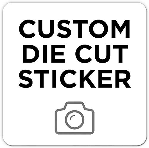 140pcs Custom Logo Stickers Personalized Vinyl Stickers Labels Text Stickers Car Bumper Wall Decals for Laptop Business Weddings Birthday Parties Gifts -Square (1.5x1.5 inch)