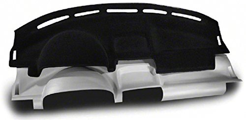 Coverking Custom Fit Dashcovers for Select Chevrolet Corvette Models - Molded Carpet (Black)