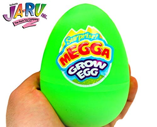 JA-RU Easter Egg Toy Magic Grow Mermaid or Unicorn Hatching Eggs Toy (1 Egg Assorted Style) Easter Party Toy for Girls & Kids Party Favor Toy. Dino Eggs That Hatch. Bath Growing Toy. #1226-1A