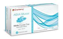 CR3447 Cranberry Aqua Source Series 3440 Nitrile Powder Free Examination Glove, Medium (Pack of 200)