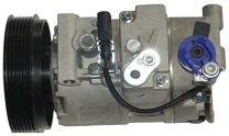 Behr Hella Service 351125661 Compressor for Audi A6 3.2L 05-09