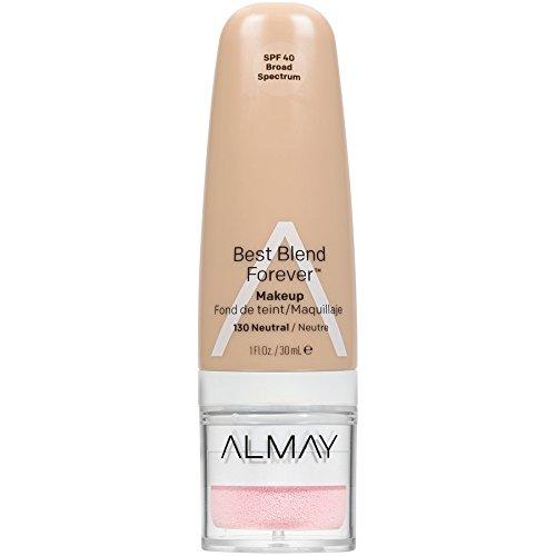 Almay Best Blend Forever Foundation, Neutral, 1 fl. oz, SPF 40 Broad Spectrum