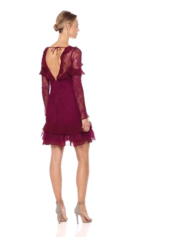 For Love & Lemons Women's Daphne Lace Mini Dress