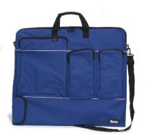 """Darice Art Portfolio Nylon Bag, Navy Blue (1pc) – Many Handy Pockets Perfect for Art Supplies and More - Roomy and Durable – with Ergonomic Handles and Shoulder Strap – Zipper Closure, 24""""x28""""x1.5"""""""