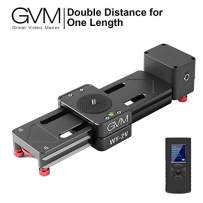 GVM Motorized Camera Slider Mini Size Track Rail Provides 6.5 inch can be Retract and Extend to 13 inch Length, idea for Outdoor Video Shooting, Travelers, Photographers, filmmakers