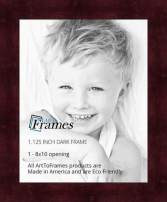 ArtToFrames 8x10 inch Dark Cherry Stain on Hard Maple Wood Picture Frame, WOM0066-71206-YCHY-8x10