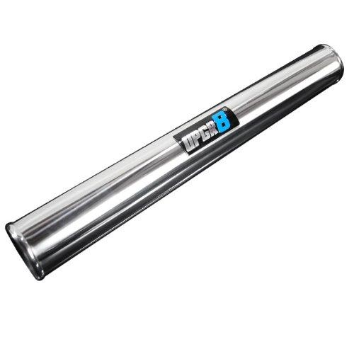 "Upgr8 Universal Outside Diameter Polished Aluminum Pipe (2.5""(63MM), 360 Degree)"