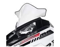 Polaris Snowmobiles Pro-Ride Mid Windshield- White Gloss