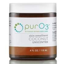 PurO3 Ozonated Coconut Oil - 4 oz - Glass Jars