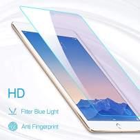 PERFECTSIGHT HD Clear Screen Protector for iPad Pro 9.7 Inch iPad 2017/2018 /Air 1/2, Anti Blue Light Filter Anti Fingerprint Tempered Glass