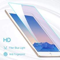 PERFECTSIGHT HD Clear Screen Protector for iPad Pro 9.7 Inch iPad 2017/2018 /Air 1/2, Anti Blue Light Filter Anti Fingerprint Tempered Glass