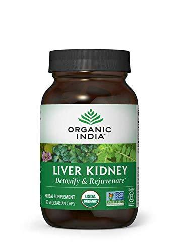 Organic India Liver Kidney 90 V-Caps