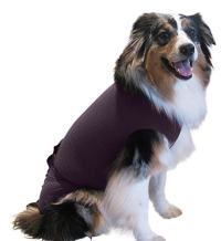Surgi~Snuggly Dog Cone - E Collar Alternative for Dogs, Made with American Textile to Protect Your Pet's Wounds, The Original Dog Recovery Suit