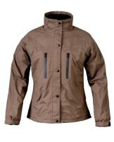 Mossi Ladies RX Rain Jacket (Brown, X-Large)