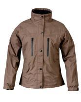 Mossi Ladies RX Rain Jacket (Brown, X-Large)