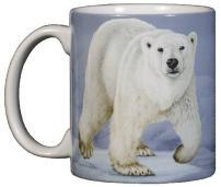 WILD COTTON Polar Bear 11 Ounce Ceramic Coffee Mug (WC571M)