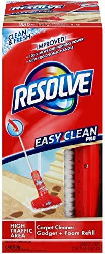 Resolve Easy Clean Pro Carpet Cleaner Gadget + Foam Spray Refill, 22oz