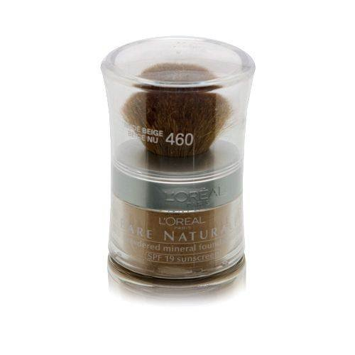 L'Oreal Paris True Match Mineral Loose Powder Foundation, Nude Beige, 0.35oz