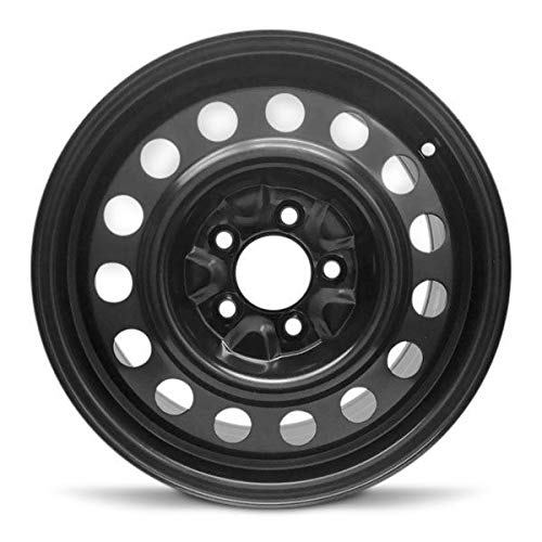 "Road Ready Car Wheel for 2012-2014 Chevrolet Orlando Steel 16 Inch 5 Lug Full Size Spare 16"" Rim Fits R16 Tire - Exact OEM Replacement - Full-Size Spare"