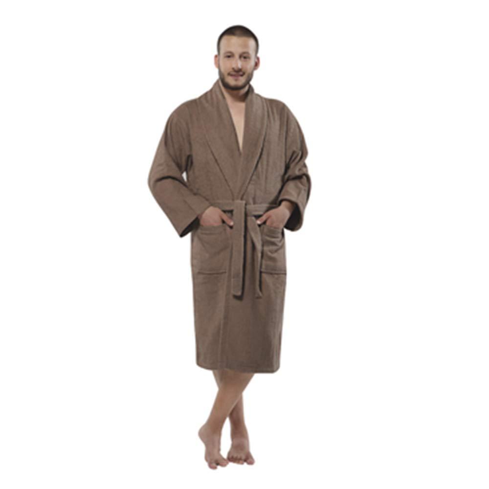 CESHME Terry Shawlcollar Men's 450 Bathrobe Wrap in Style