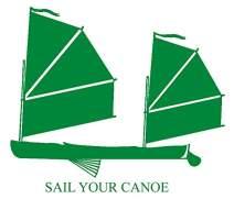 hBARSCI Sailing Canoe Vinyl Decal - 5 Inches - for Cars, Trucks, Windows, Laptops, Tablets, Outdoor-Grade 2.5mil Thick Vinyl - Green
