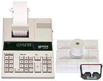 Monroe 122PDX Medium-Duty 12-Digit Print/Display Calculator with Ribbons and Paper (Calculator with Ribbons and Paper)