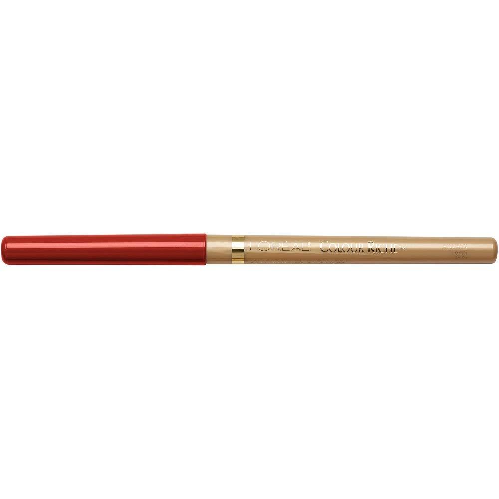 L'Oreal Paris Colour Riche Lip Liner, Always Red, 0.007 Ounce