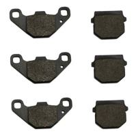 Volar Front & Rear Brake Pads for 2008-2015 CAN AM DS90 X 2x4 4T