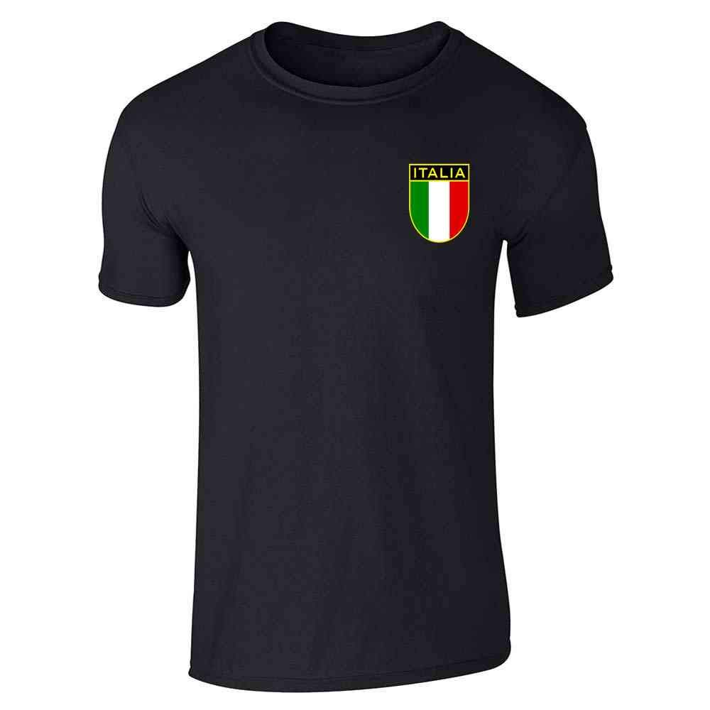Italy Soccer Retro National Team Graphic Tee T-Shirt for Men