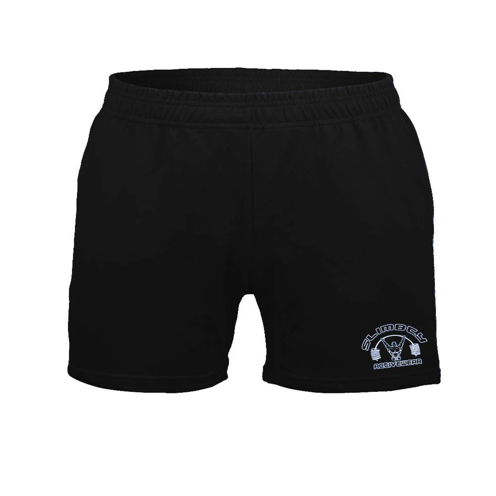 """palglg Mens Bodybuilding Workout Shorts 5"""" Inseam with Pockets"""