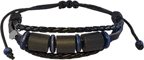 Shark Off Shark Repellent Bracelet Surfwear Jewelry | The Bimini – Repel Sharks with Patented Alloy Shark Repellent on Adjustable Leather Bracelet – Not Magnetic, Won't Damage Sensitive Electronics!