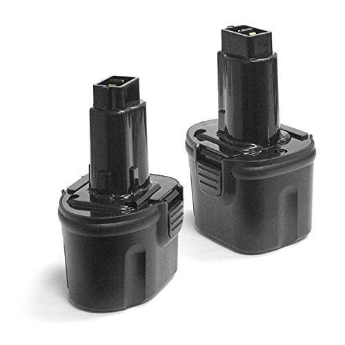 2 Pack ExpertPower 7.2v 2000mAh NiCd Battery for Dewalt DW9057 DE9057 DE9085 DW920K DW920K-2 DW920K2 DW925K DW925K-2 DW925K2 DW968K