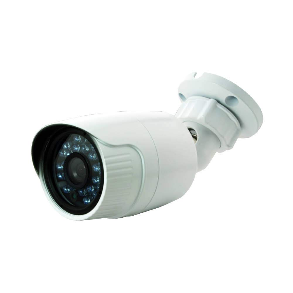 CCTV Camera Pros HD-Q7 1080p HD CCTV Camera | 4in1 TVI AHD CVI Analog BNC Infrared Security Camera | Weatherproof Outdoor Fixed Bullet | Retail Home Business | 2MP