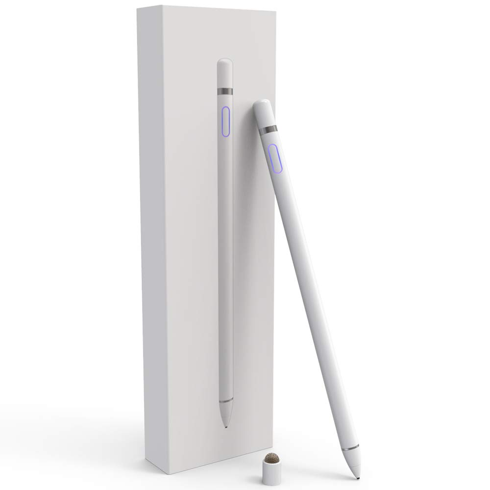 Stylus Pens for Touch Screens, Fine Point Active Smart Digital Pencil Compatible iPad and Most Tablet