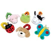 Kaplan Early Learning Company Wrist Rattles - Set of 6