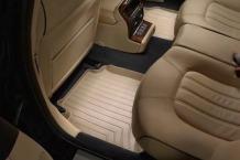 WeatherTech Custom Fit Rear FloorLiner for Volkswagen Jetta, Tan