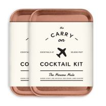 W&P Carry On Cocktail Kit, Sugarfina Moscow Mule | Set of 2 | Travel Kit for Drinks on the Go, Craft Cocktails, TSA Approved