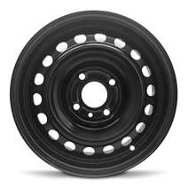 """Road Ready Car Wheel for 2004-2006 Hyundai Elantra Steel 15 Inch 4 Lug Full Size Spare 15"""" Rim Fits R15 Tire - Exact OEM Replacement - Full-Size Spare"""