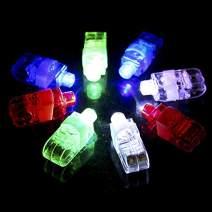 SUNMALL Rave LED Finger Flashlights, 90 pcs Magic Glow Finger Lights Finger Beam Lights Bulk Light Up Rings Toys Party Favors for Kids (90pcs Finger Lights)