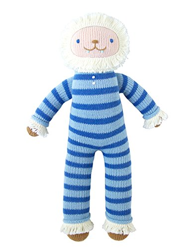 Blabla BRR The Yeti Plush Doll - Knit Stuffed Animal for Kids. Cute, Cuddly & Soft Cotton Toy. Perfect, Forever Cherished. Eco-Friendly. Certified Safe & Non-Toxic.