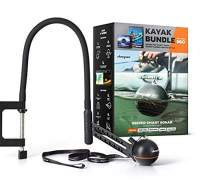 Deeper Smart Sonar Pro Kayak Bundle - WiFi Castable Fish Finder for Kayaks and Boats and Flexible Arm Mount 2.0